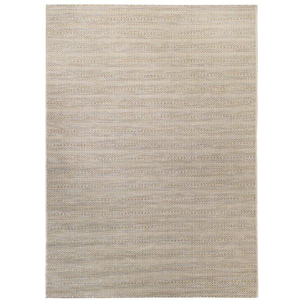 Hofstetter Gray/Beige Indoor/Outdoor Area Rug by Highland Dunes
