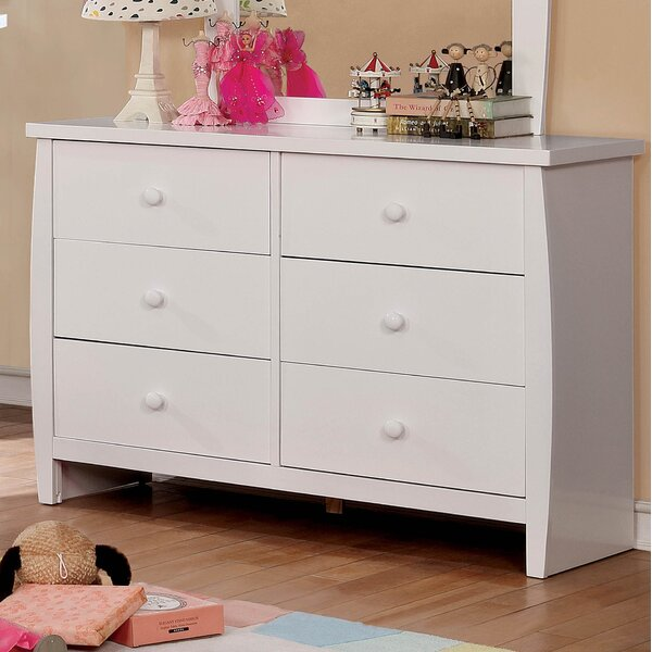 Amabilia 6 Drawer Double Dresser by Mack & Milo