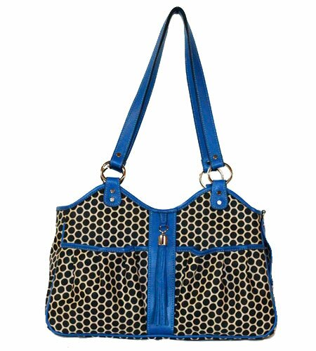 Espresso Dot Metro Pet Carier by Petote