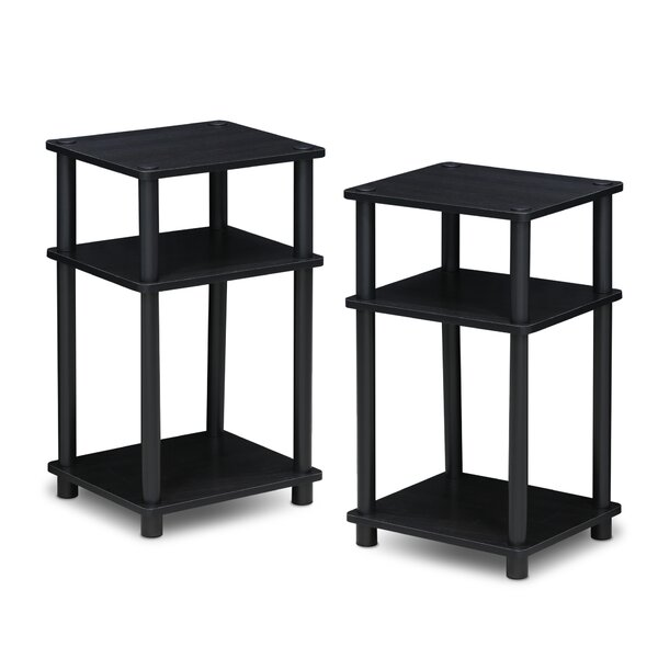 Patio Furniture Colwyn 2 Piece End Table Set
