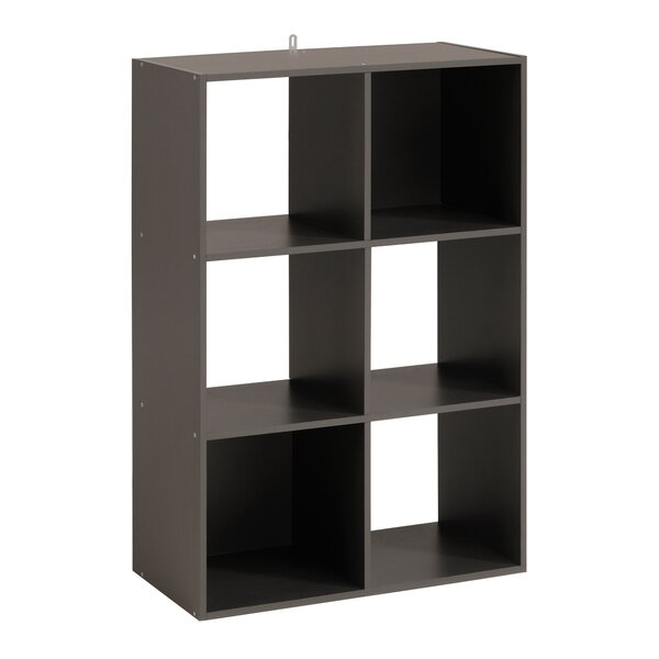 Aarav 6 Cube Unit Bookcase by Ebern Designs