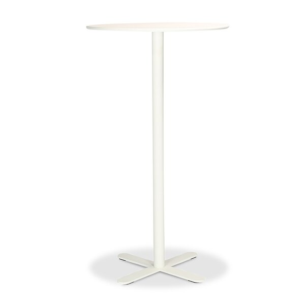 Adahy Metal Bistro Table by Ebern Designs