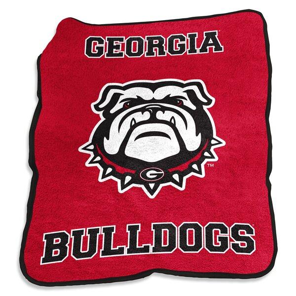 Georgia Mascot Throw by Logo Brands