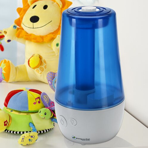 PureGuardian 1 Gal. Cool Mist Ultrasonic Tabletop Humidifier by Guardian Technologies