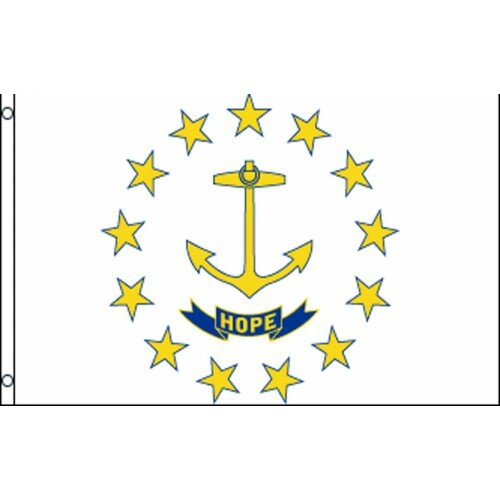 Rhode Island Traditional Flag by NeoPlex