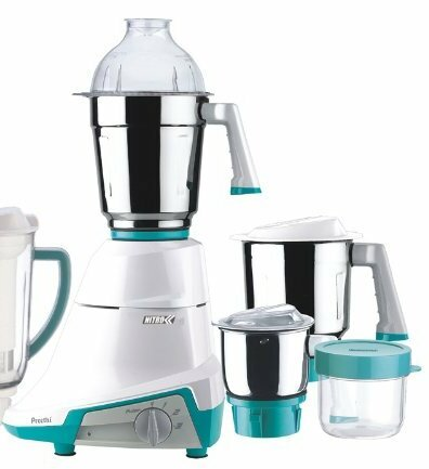 Nitro 550 Watts 3 Jar Mixer Grinder by Preethi