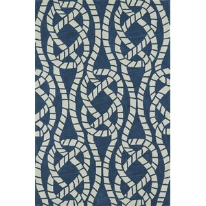 Bovina Hand-Tufted Baltic/Ivory Area Rug