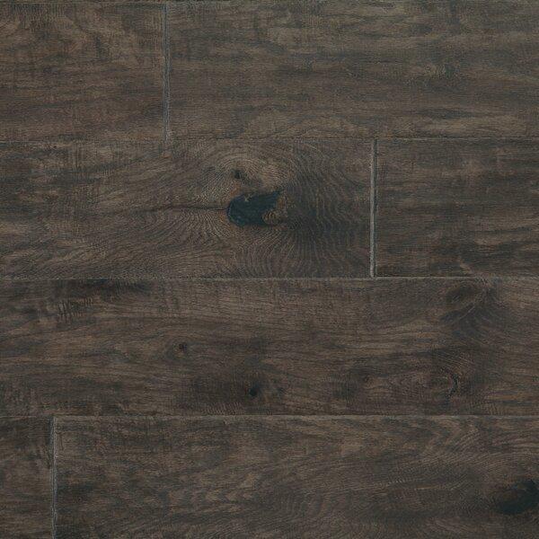 Rock Creek Plank 6-1/3 Engineered Oak Hardwood Flooring in Coyote by Mannington