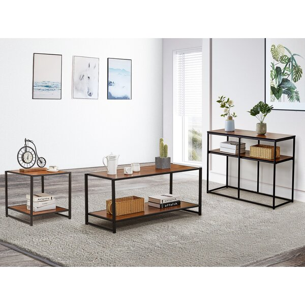 Jenkins 3 Pieces Coffee Table Set by 17 Stories