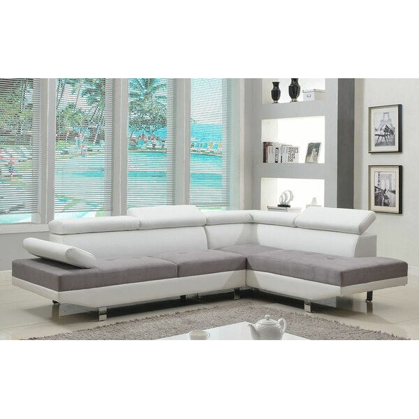 Modern Sectional Right Hand Facing by Madison Home USA by Madison Home USA