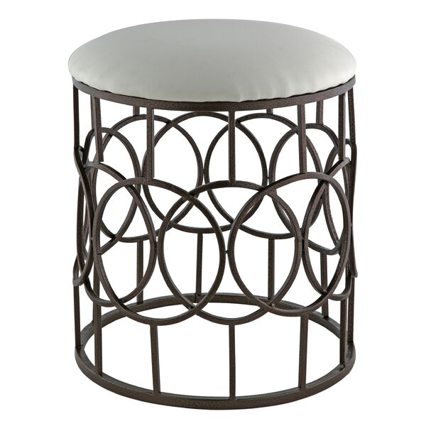 Chesterland Accent Stool by Charlton Home
