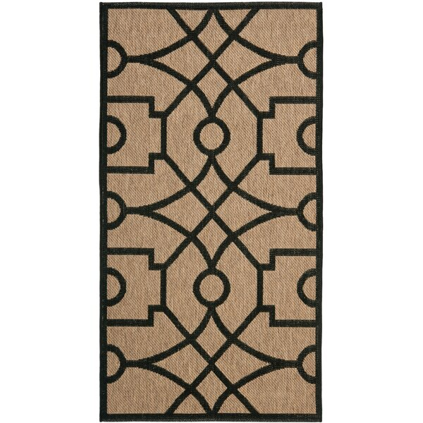 Martha Stewart Fretwork Tan/Black Area Rug by Martha Stewart Rugs