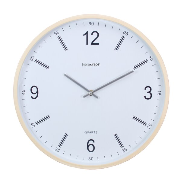 Kiera Grace 14 Neo Wall Clock with Convex Glass Lens (Set of 6) by nexxt Design