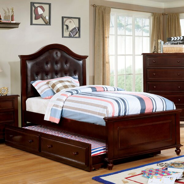 Eliot Upholstered Platform Bed by Harriet Bee