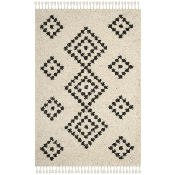 Apsel Black/Beige Area Rug by Trent Austin Design