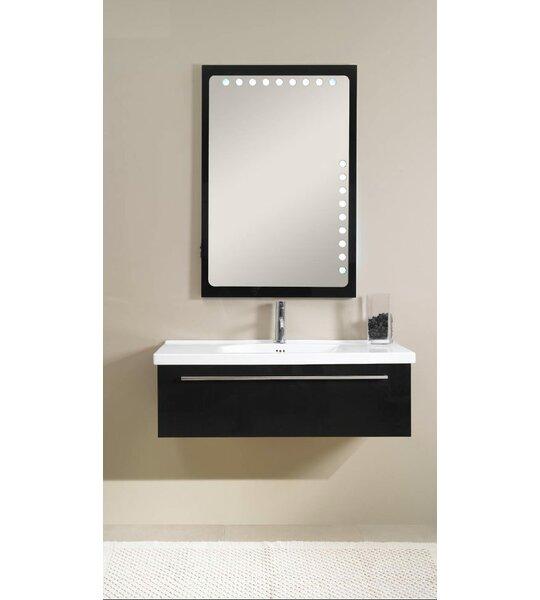 Fly 40 Single Bathroom Vanity Set with Mirror