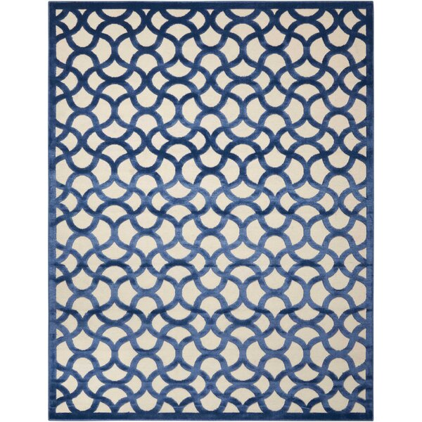 Stanhope Ivory/Blue Area Rug by Willa Arlo Interiors