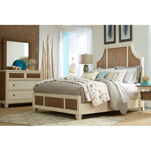 Bridge Hampton Seagrass Panel Configurable Bedroom Set by Panama Jack Home