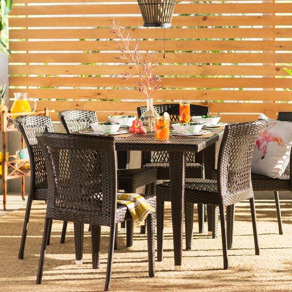 Vinalhaven 7 Piece Dining Set by Beachcrest Home
