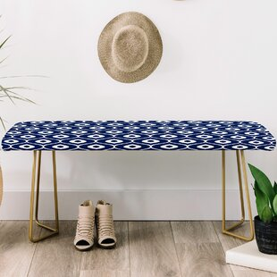 Aimee St Hill Faux Leather Bench