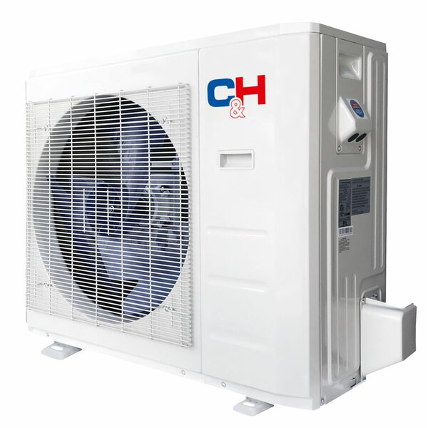 Single Zone Light Commercial Slim Duct 24,000 BTU Energy Star Ductless Mini Split Air Conditioner with Remote by Cooper&Hunter