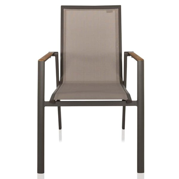 Pompilio Stacking Patio Dining Chair by UrbanMod