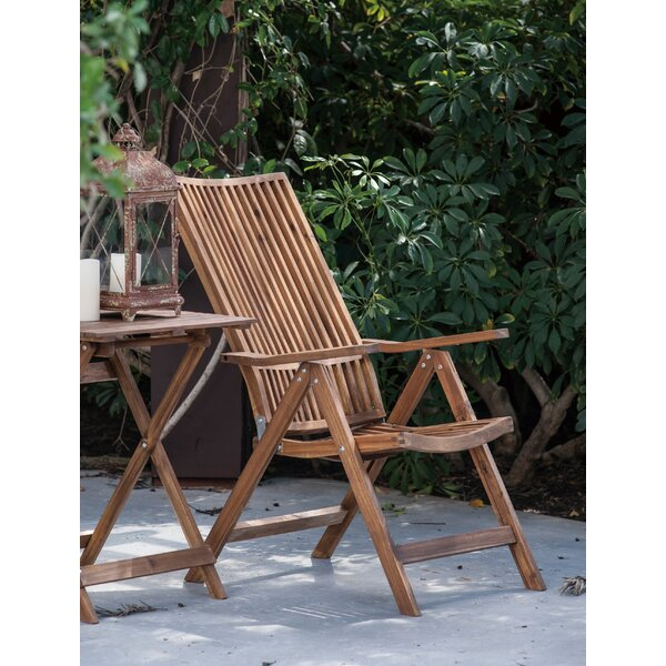 Lilly Retreat Adjustable Lounge Chair by Bay Isle Home