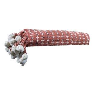 Cross Stitch Cotton Throw Blanket