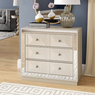 Top Scally 3 Drawer Chest By Everly Quinn