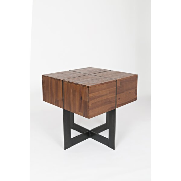 Goncalo End Table by 17 Stories