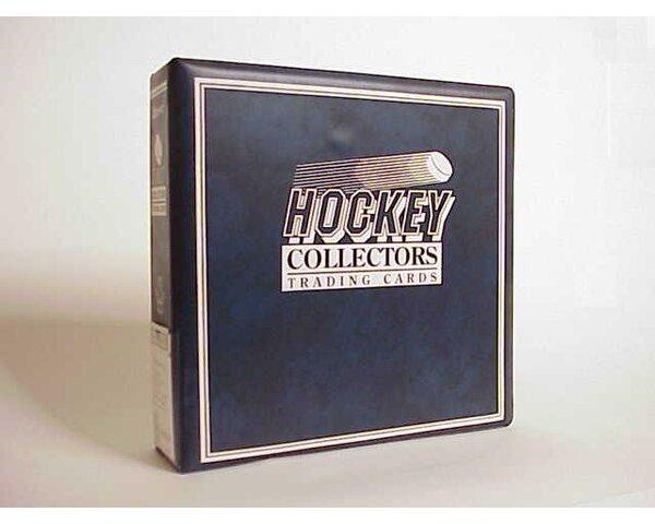 NHL Hockey Album in Blue by Ultra Pro