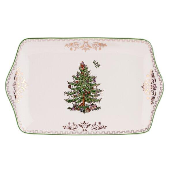 Christmas Tree Dessert Tray by Spode