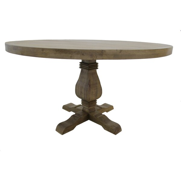 Poole Solid Wood Dining Table by Gracie Oaks