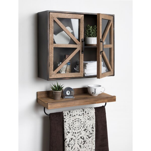 Thadine 24 W x 19.75 H Wall Mounted Cabinet by Gracie Oaks