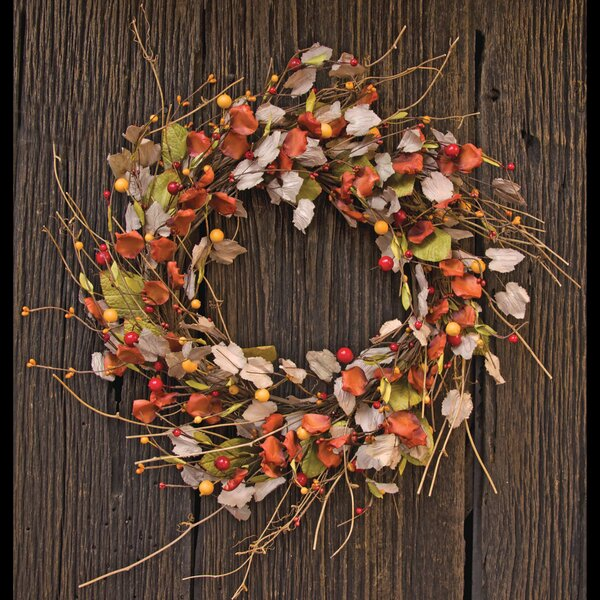 22 Leaves Wreath by August Grove