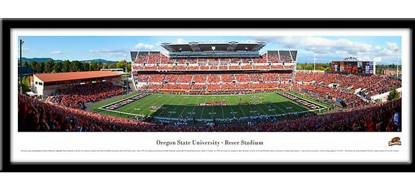 NCAA Oregon State Beavers Framed Photographic Print by Campus Images