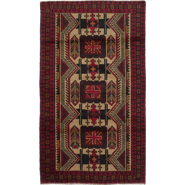 One-of-a-Kind Caya Hand-Knotted Ivory Area Rug by Isabelline