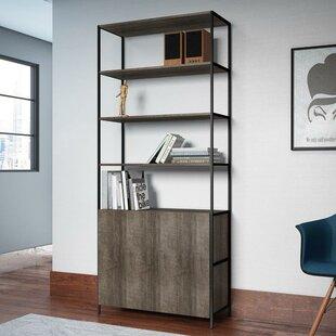 Cayenna Wide Standard Bookcase Union Rustic