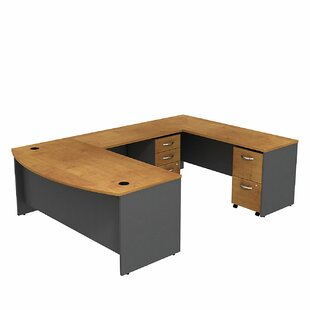 Series C Bow Front U-Shape Executive Desk