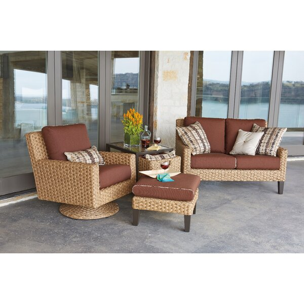 Mona Deep Seating Group with Cushions by Woodard