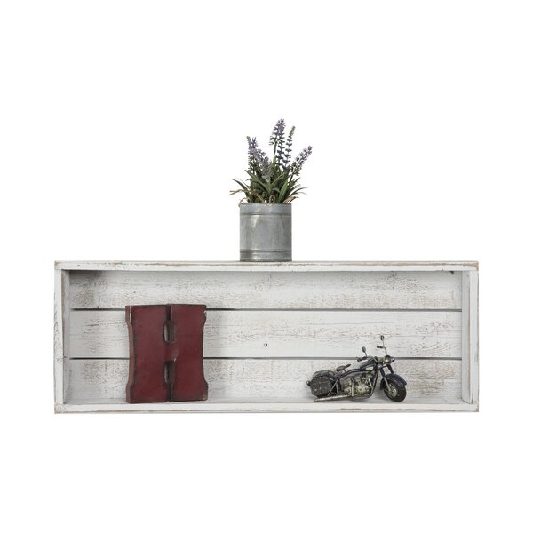 Madalynn Sharan Rustic Accent Shelf by Mistana