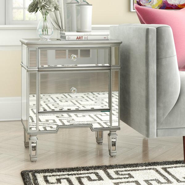 Nabors Nightstand by House of Hampton