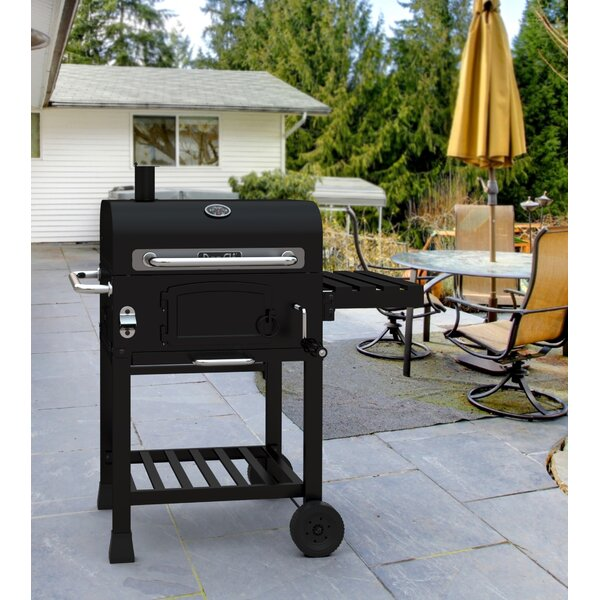 50 Charcoal Grill with Side Shelves by Dyna-Glo