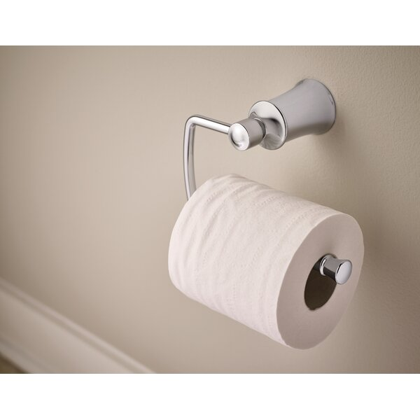 Dartmoor Wall Mount Toilet Paper Holder by Moen