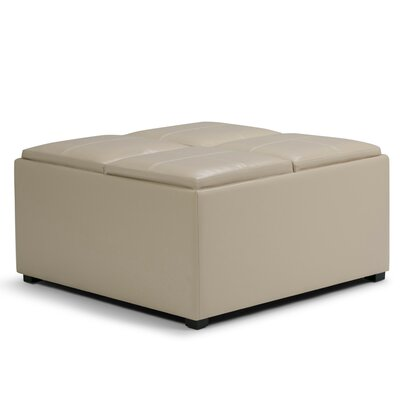 Square Tray Top Ottomans Amp Poufs You Ll Love In 2019 Wayfair