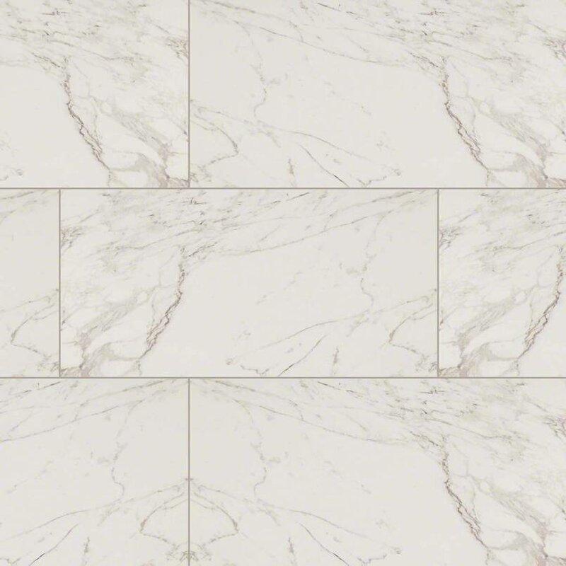 Msi Pietra Carrara 12 X 24 Porcelain Field Tile In White Reviews