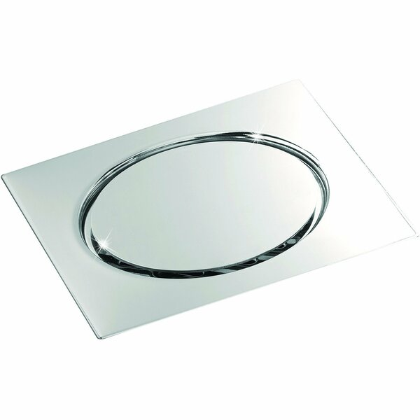 Steel Floor Screwed Cover Grid Shower Drain by AGM Home Store