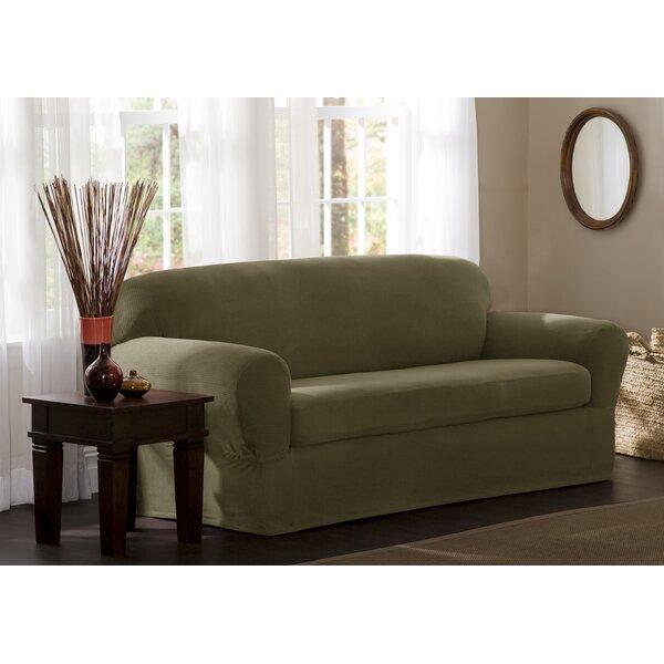 Box Cushion Sofa Slipcover By Charlton Home Cool