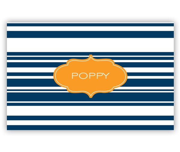 Block Island Personalized Laminated Placemat by Dabney Lee