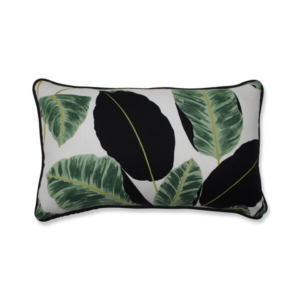 Biscay Hojas Cubanas Rainforest Lumbar Pillow by Bay Isle Home